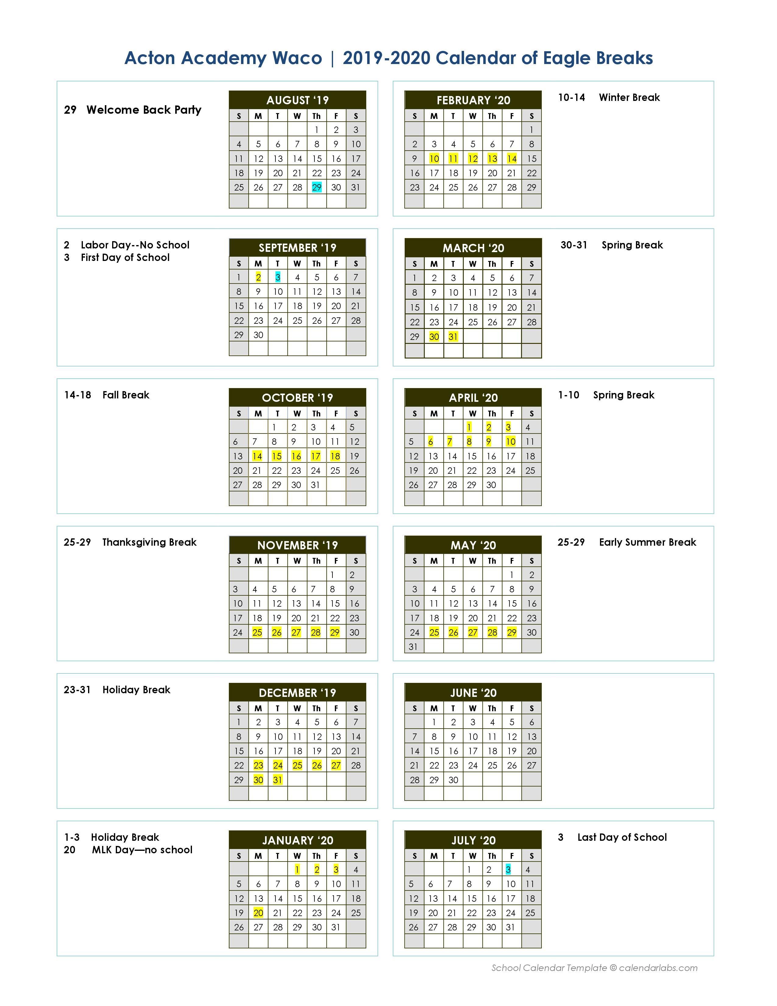 acton-waco-calendar-2019-2020